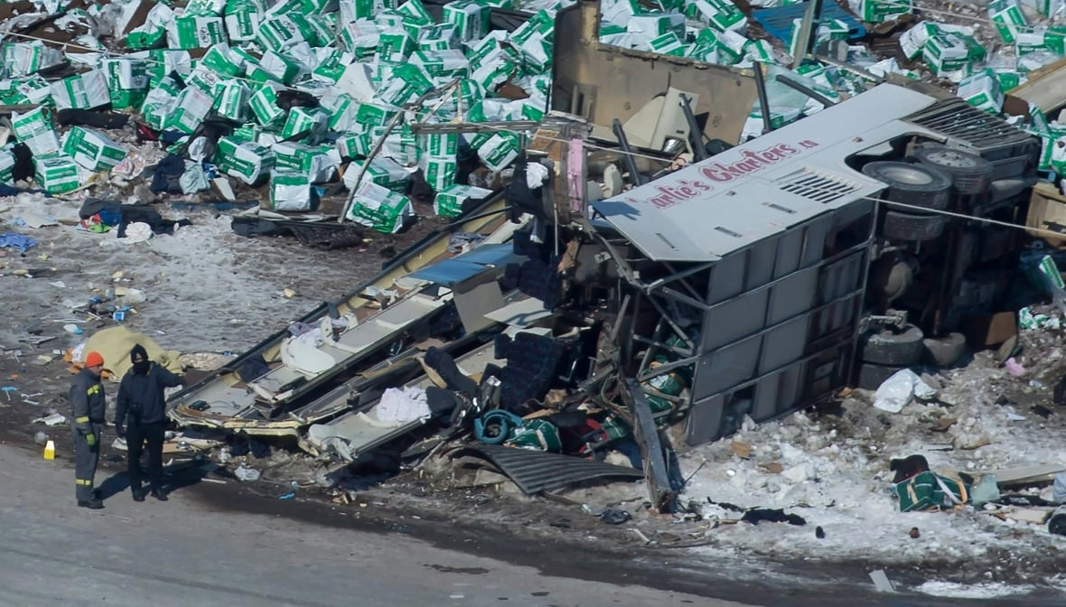 Calgary trucking company involved in Humboldt bus crash suspended