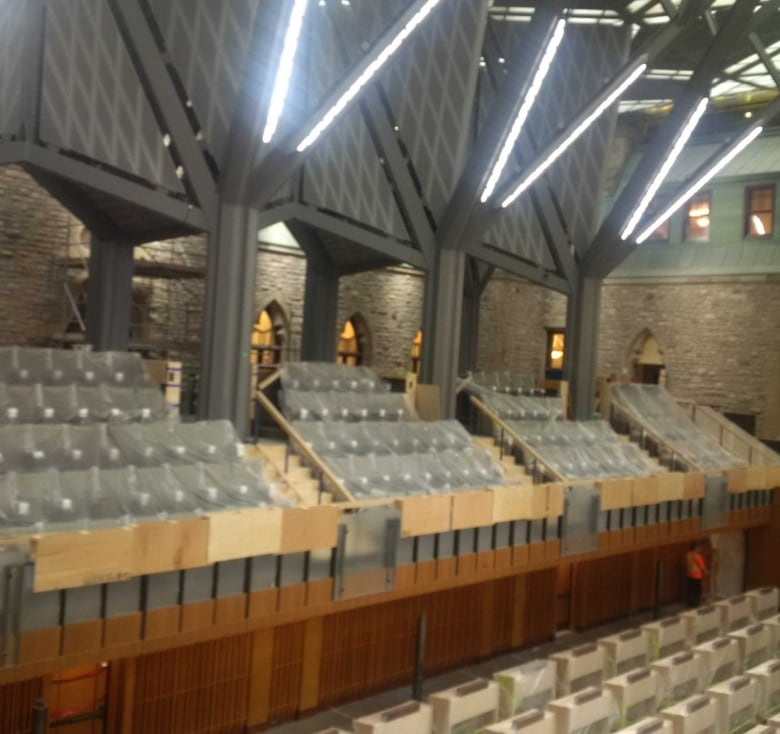 Curtain Slowly Lifts On Parliament's Revamped West Block