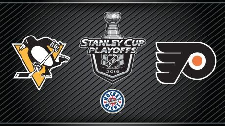HNIC Playoffs Pittsburgh at Philadelphia - Penguins at Flyers - PIT at PHI