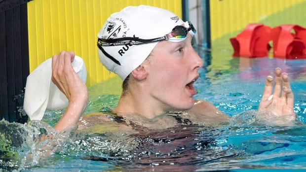 Canada 39 S Taylor Ruck Wins 8th Medal To Equal Commonwealth Games Record Cbc Sports