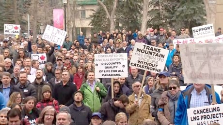 Rally For Resources Calgary Trans Mountain