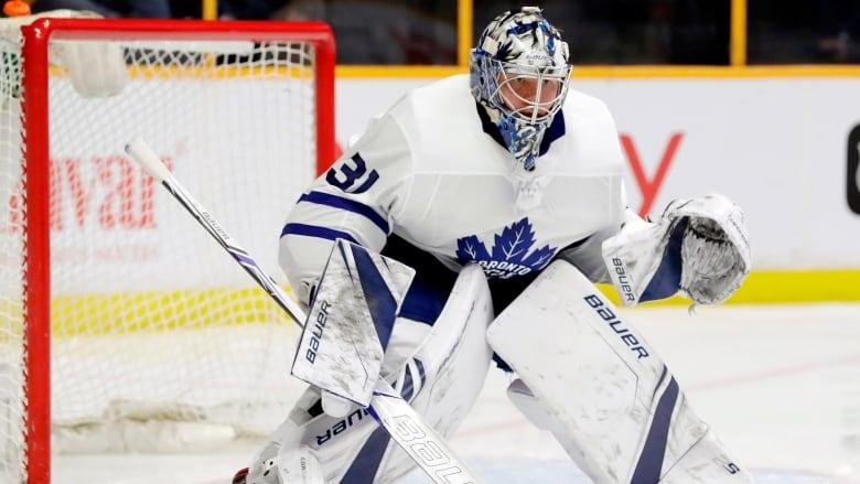 online store ed1ab 530d1 Leafs' Frederik Andersen not resting ahead of series against ...