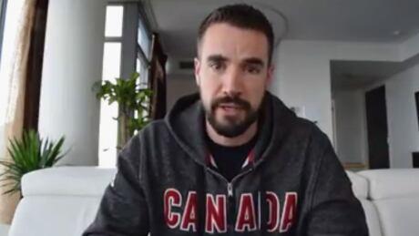 Kevin Rempel talks to Humboldt survivors on video