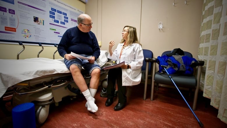 Wait times for hip and knee replacements grow in Canada | CBC News