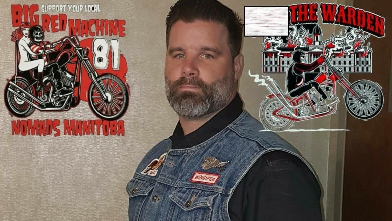 Manitoba Hells Angels president compares 'no gang colour' policy to