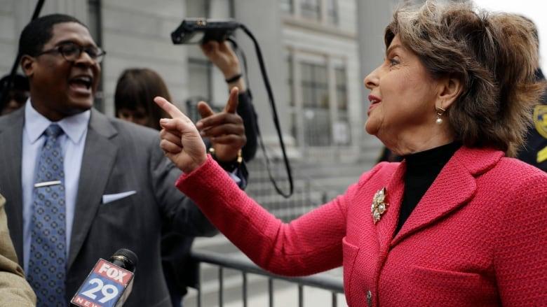 The fight has just begun': Gloria Allred, tough-talking