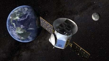 TESS NASA explanet hunter