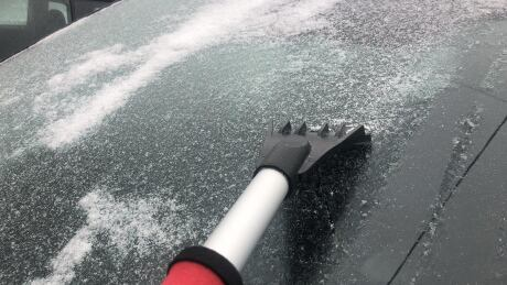 Freezing rain warning for Waterloo region and Wellington County