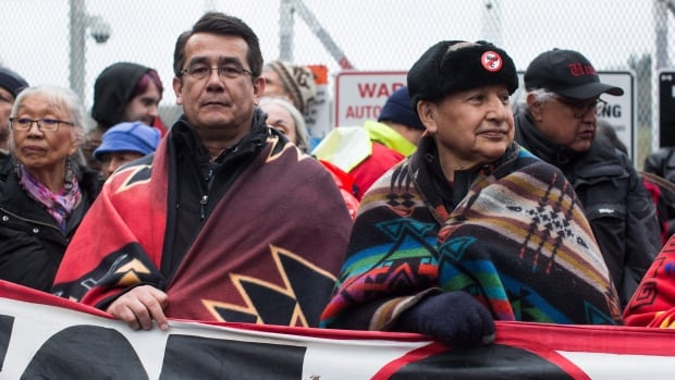Local anti-pipeline leaders to update Trans Mountain opposition's stance after Trudeau's meeting with premiers | CBC News