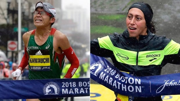 Japan, U.S. halt 30-plus year title droughts at Boston Marathon | CBC Sports