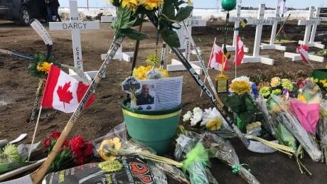 Coach Darcy Haugan memorial site