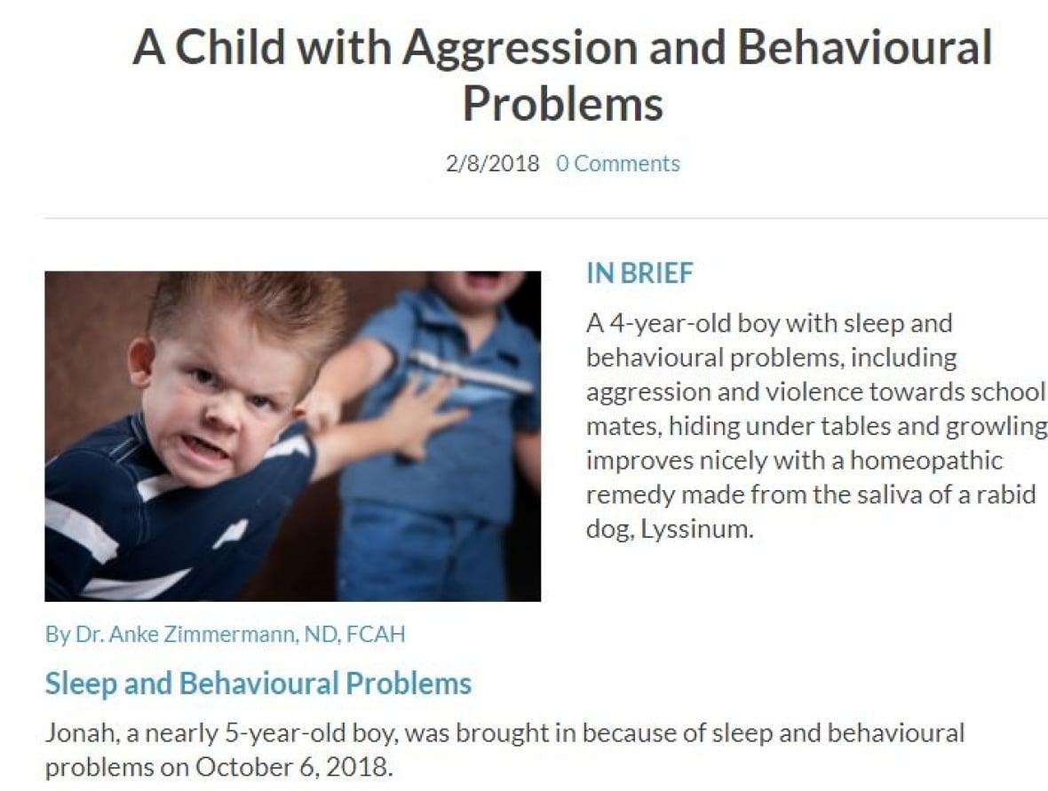 BC naturopath treats boy with rabid dog saliva