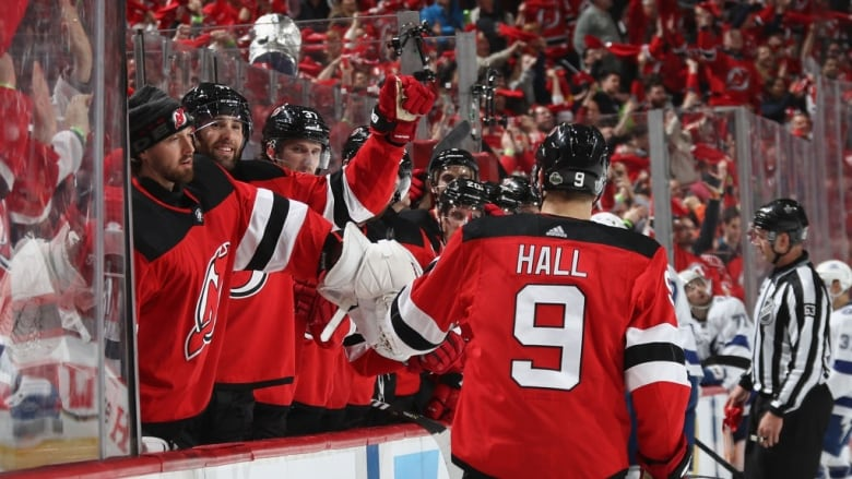 low priced 2e2a5 31cb7 Devils heat up at home for crucial Game 3 triumph over ...