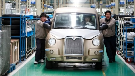 GEELY china factory london cab