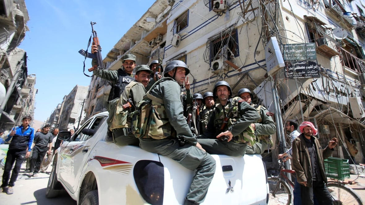 Chemical inspectors await all-clear to begin work in Syria's Douma