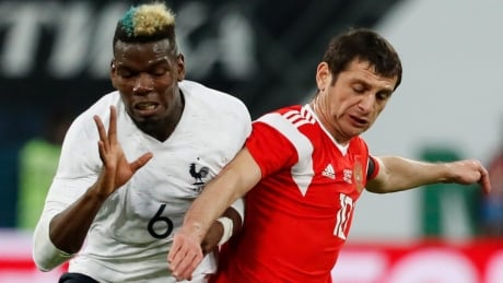 Russia Fan Racism FIFA Paul Pogba