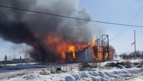 Church burns to the ground in isolated northern Manitoba community of Shamattawa