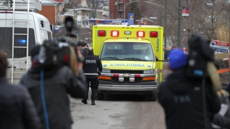 Rosalie Gagnon ambulance
