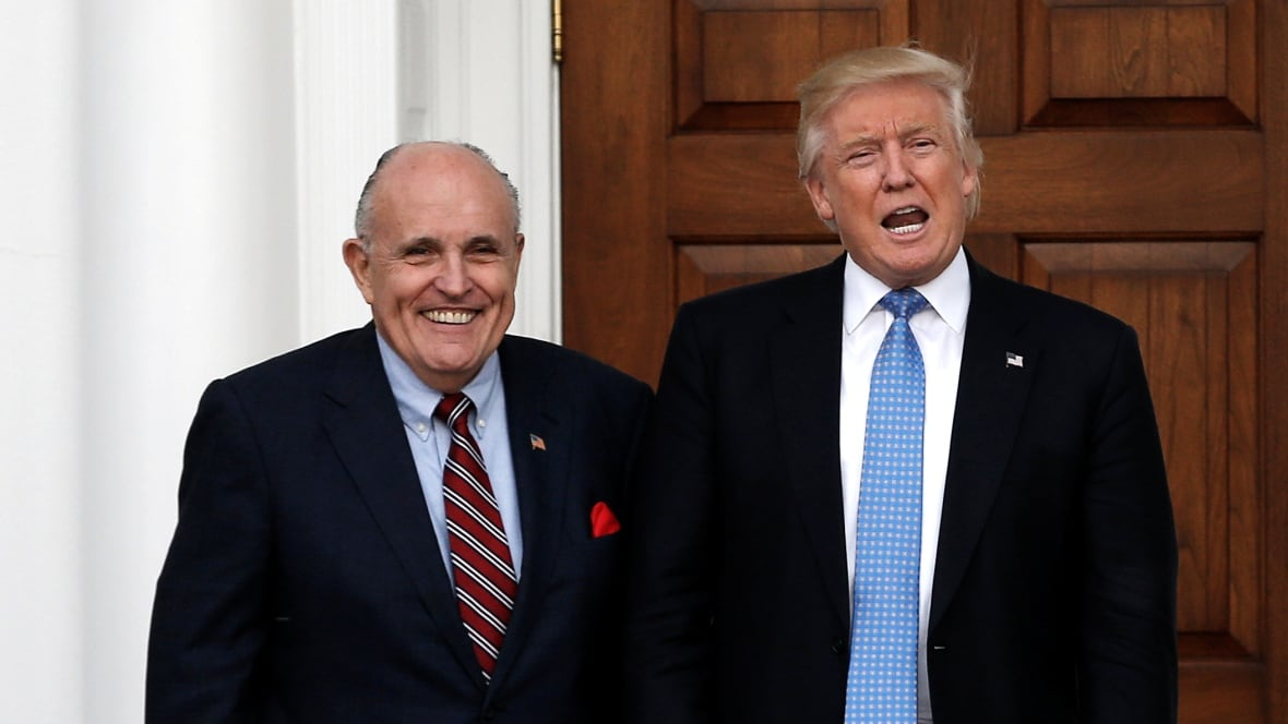Rudy Giuliani joins Trump's legal team defending President against Robert Mueller's probe