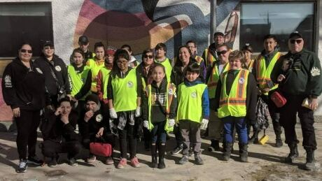Youngest member of Winnipeg Bear Clan's youth patrol raising money, supplies for homeless