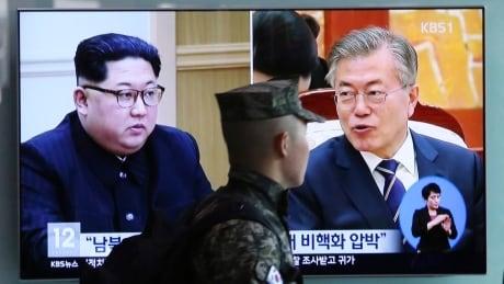Koreas Tension Summit On TV