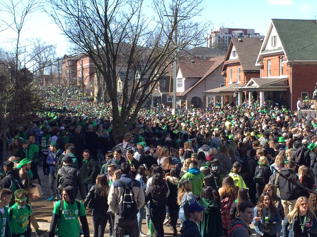 How Waterloo's unsanctioned St  Patrick's Day party cost