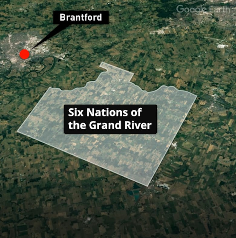 Why so few people on Six Nations reserve have clean running water, unlike their neighbours