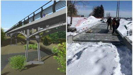 Glenmore pathway bridge