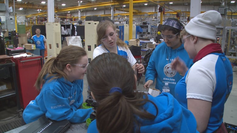 Meet the all-female rookie robotic squad headed to a world