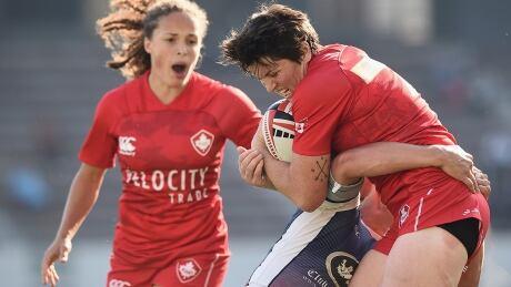 Britt Benn Canada Women's Rugby Sevens