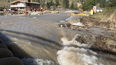 B.C. hot spell brings potential river spills