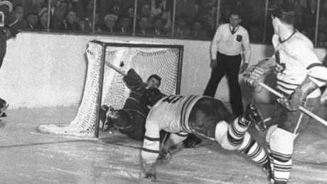 Listen to the radio call from 1951 when Bill Barilko won the Leafs the Cup