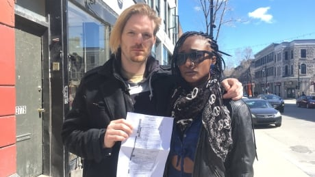 Black woman given $444 ticket for 'excessive noise,' accuses Montreal police of racial profiling | CBC
