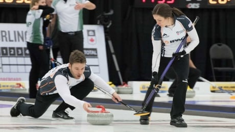 Canada off to unbeaten start at mixed doubles curling world championship