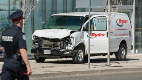 toronto van crash