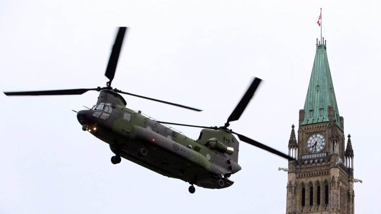 UN says Canada needs more helicopters to fully meet its peacekeeping