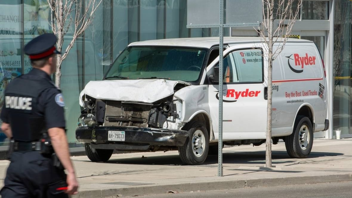 Police question Toronto van attack suspect after 10 people killed