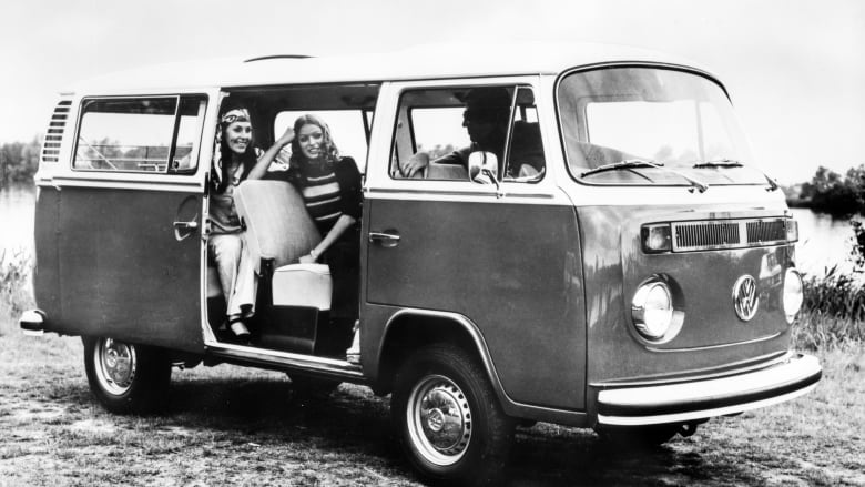 dc864ef13b Budde has no photos of his original 1974 Volkswagen camper but said its  custom powder-coated blue rims would make it stand out. (Volkswagen Canada)