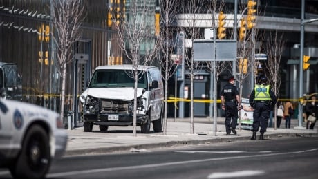 Court documents identify 13 injured in deadly van attack | CBC