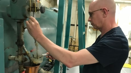 Century-old steam machinery still heating B.C.'s oldest high school — for now