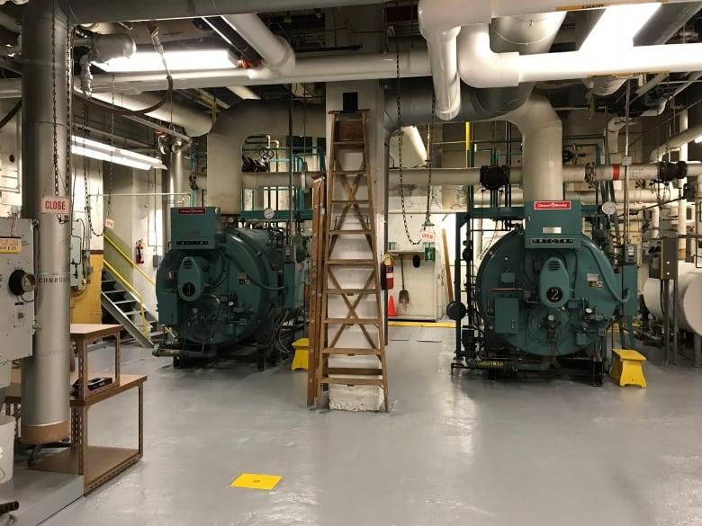 Century-old steam machinery still heating B C 's oldest high