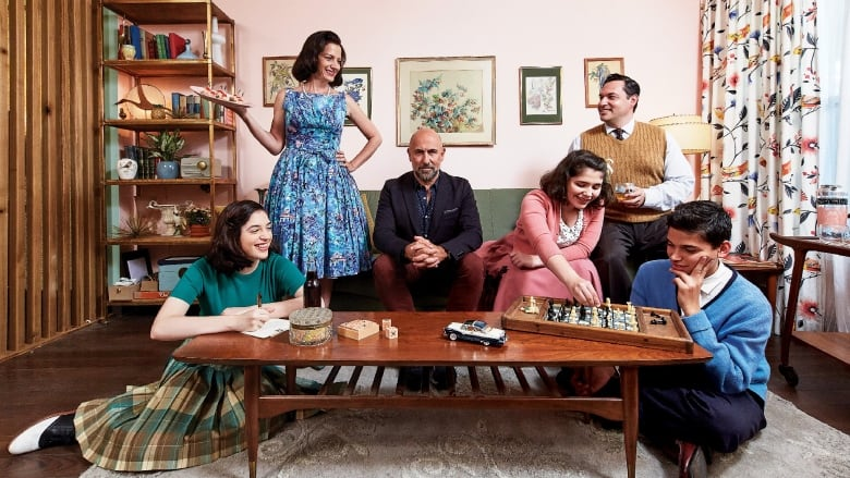 Back In Time For Dinner' takes Canadian family on a journey