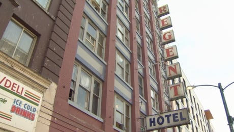 Vancouver shuts down decrepit Regent Hotel, with residents to move into nearby property