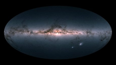 this is the most detailed map ever made of the milky way galaxy