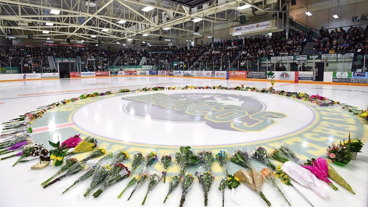 Tribute to Humboldt Broncos to be removed from home ice