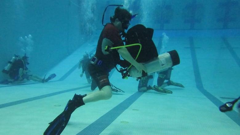 Sudbury scuba dive group to mark major milestone   CBC News