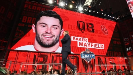 Woeful Browns anoint QB Baker Mayfield as latest saviour with 1st overall pick