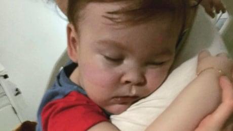 Britain Sick Toddler