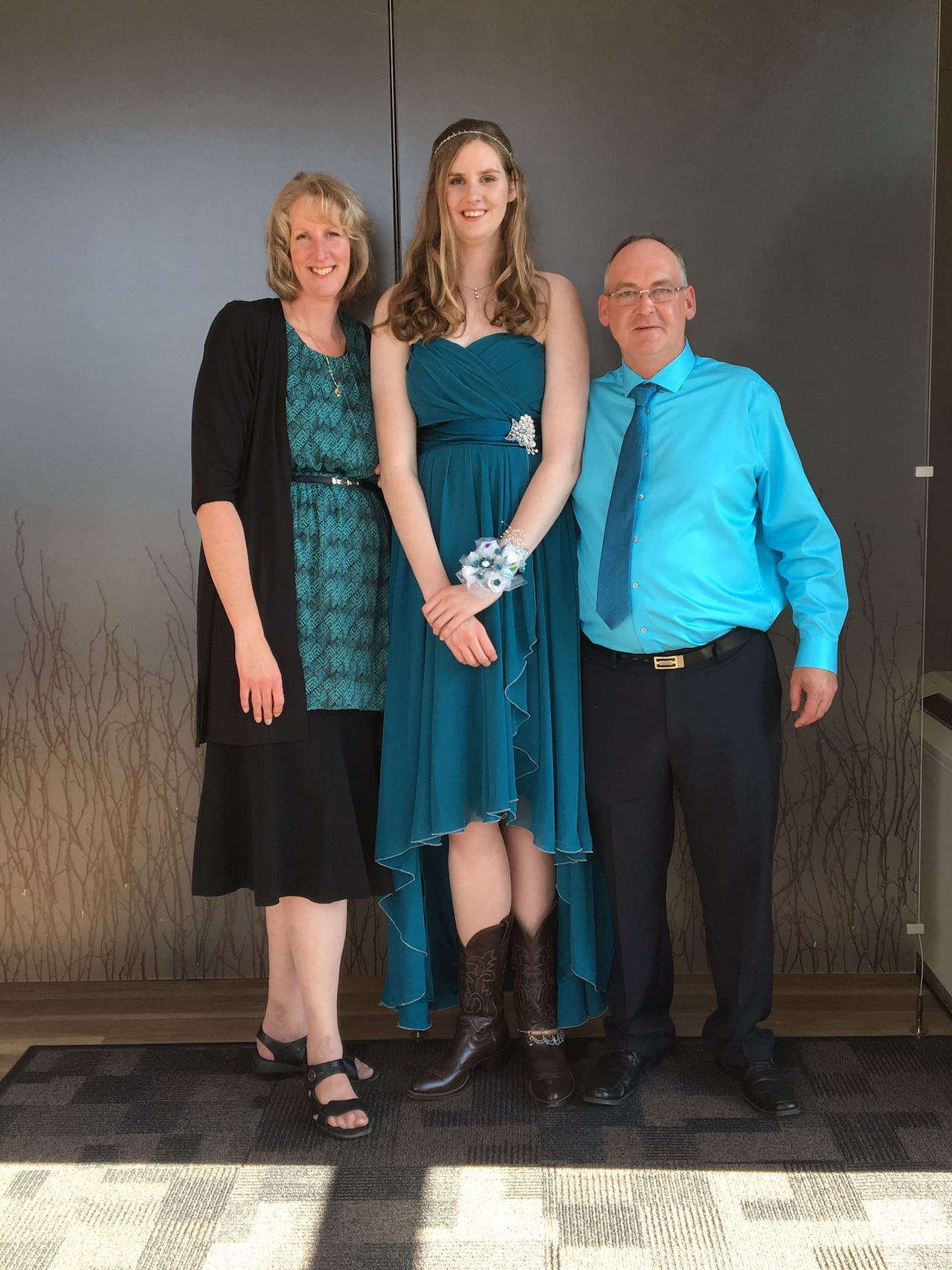My daughter is taller than her father