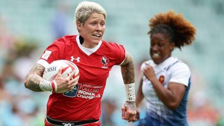 Jen Kish Rugby Canada Sevens